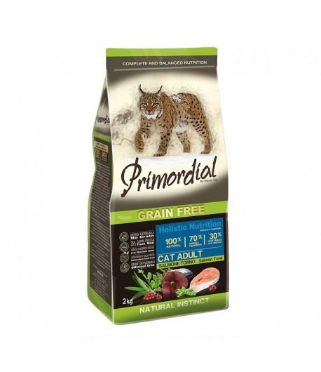 Primordial Grain Free Cat Adult Salmone e Tonno