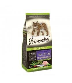 Primordial Grain Free Cat Adult Sterilizzato Tacchino e Aringa