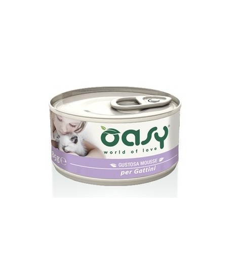 OASY Mousse per GATTINI