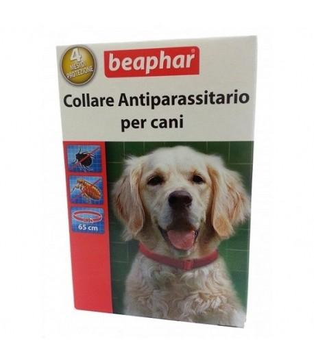 Beaphar Collare Rosso per Cani 65 cm.