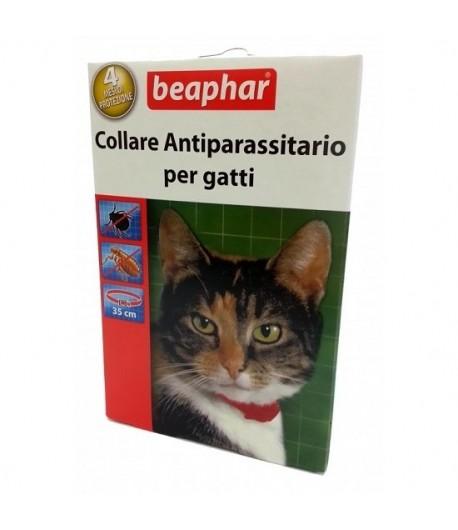 Beaphar Collare Rosso per Gatti 35 cm.