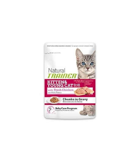 Trainer Natural Kitten_Bocconcini in Busta 85 gr.
