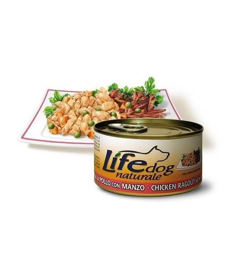 LifeDog Naturale - Lattina_170 gr.