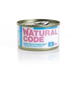 Natural Code Cat Kitten 85 gr. in Brodo
