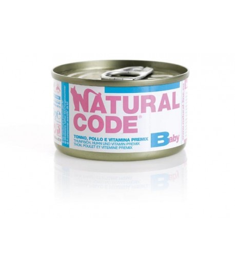 Natural Code Cat Kitten 85 gr. in Brodo