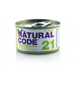 Natural Code Cat Adult 85 gr. in Jelly