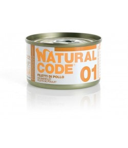 Natural Code Cat Adult 85 gr. in Acqua di cottura