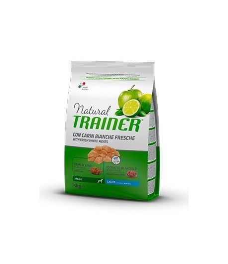 Trainer Natural Dog Maxi Light Carni Bianche Fresche