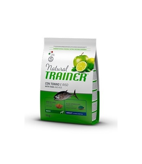 Trainer Natural Dog Maxi Adult Pesce e Riso