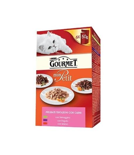 Gourmet Mont Petit, 6 x 50 gr.
