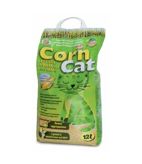 Manitoba, Lettiera Naturale Corn Cat 12 Lt.