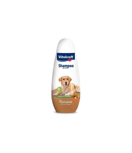 Vitakraft, Shampoo Nutriente con Olio di Argan 400 ml.