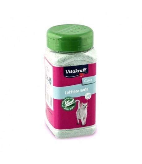 Vitakraft, Deodorante Lettiera Sana con Aloe Vera 720 gr.