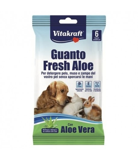 Vitakraft, Guanto Fresh Aloe