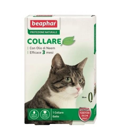 Beaphar, Protezione Naturale Olio di Neem, Collare Gatto