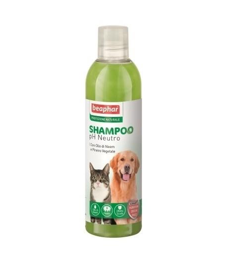 Beaphar, Protezione Naturale Olio di Neem, Shampoo Cani e Gatti