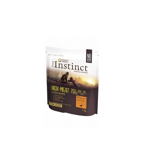 True Instinct CAT HIGH MEAT Adult Pollo
