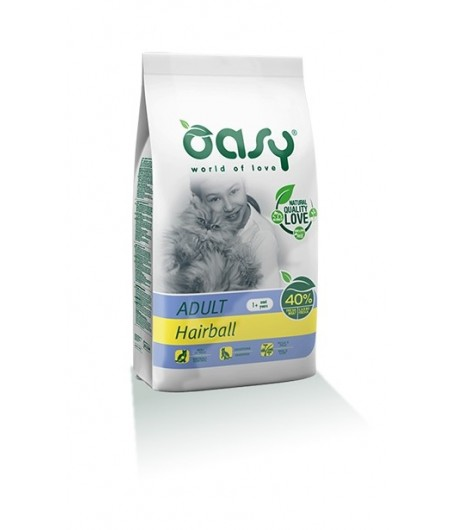 Oasy Cat Adult Hairball