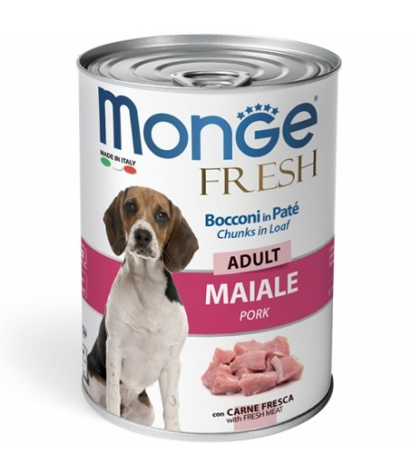 Monge Fresh Dog Adult Bocconi in Patè 400 gr.