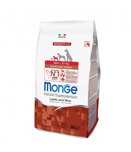 Monge ADULT MINI PUPPY Agnello e Riso