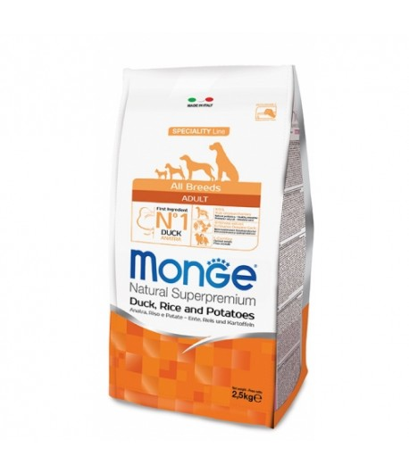 Monge All Breeds Anatra, Riso e Patate