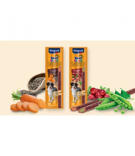 Vitakraft, Beef Stick Superfood 25 gr.