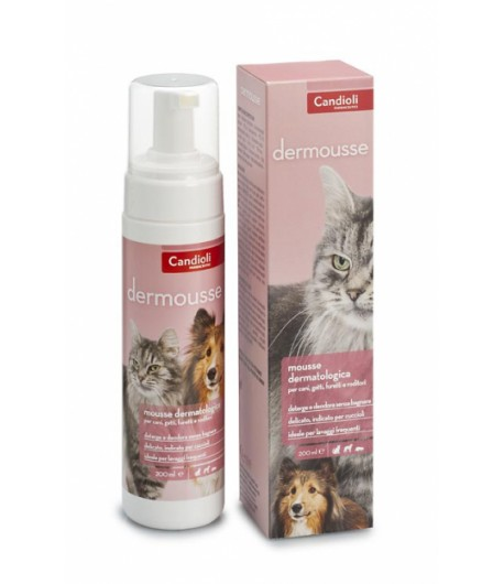 Candioli, Dermousse 200 ml.