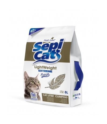 Sepicat lettiera per gatti Lightweight Extreme Fresh - Agglomerante