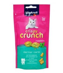 Vitakraft, Crispy Crunch DENTAL 60 gr.