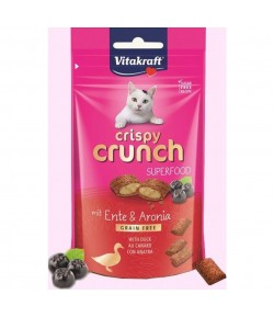 Vitakraft, Crispy Crunch ANATRA E ARONIA 60 gr.