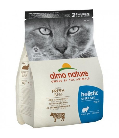 Almo Nature Cat Sterilised Manzo