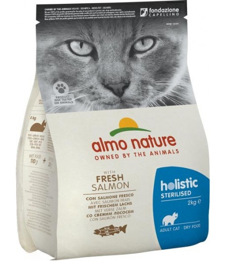 Almo Nature Cat Sterilised Salmone