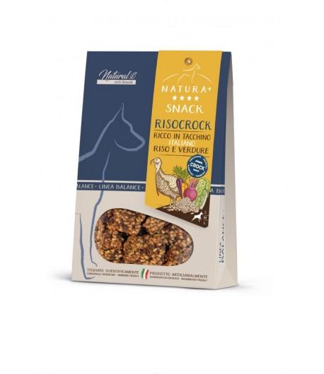 Cibuspet Snack RISOCROCK con Tacchino e Verdure
