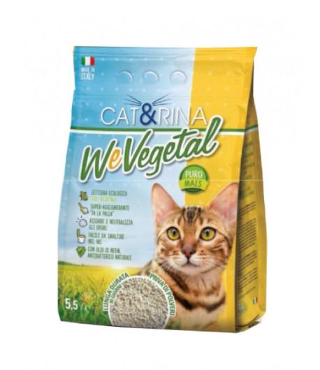 Record, CAT&RINA Lettiera Vegetale al Mais 5,5 Lt.