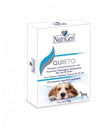 Nutrigen, QUIETO CANE compresse anti stress per cani