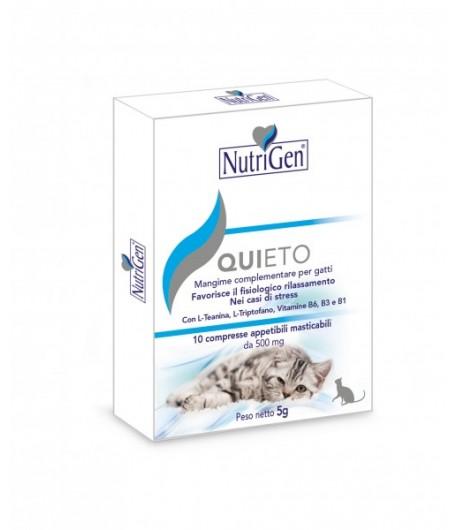 Nutrigen, QUIETO GATTO compresse anti stress per gatti