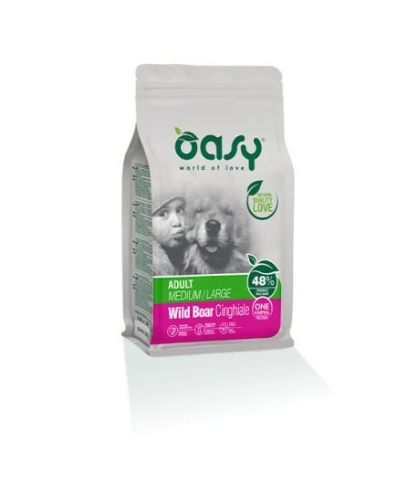 Oasy Dry Dog Adult Medium/Large Cinghiale
