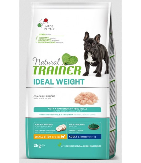 Trainer Natural Dog Small & Toy Light Carni bianche fresche