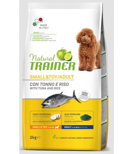 Trainer Natural Dog Small & Toy Pesce e Riso