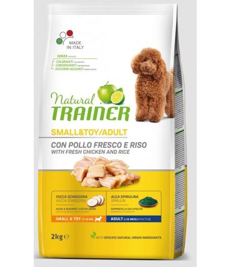 Trainer Natural Dog Small & Toy Pollo e Riso