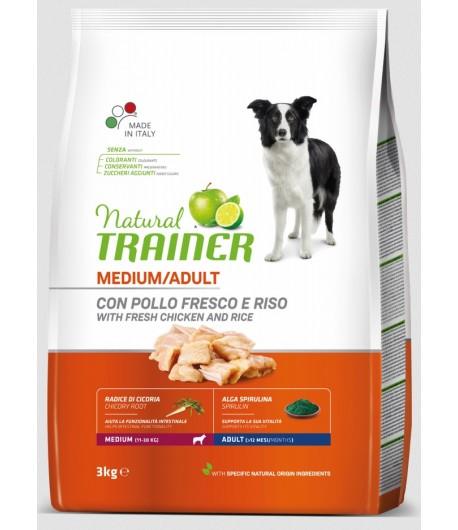 Trainer Natural Dog Medium Adult Pollo Fresco